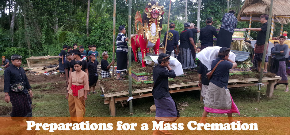 Preparations for a Mass Cremation