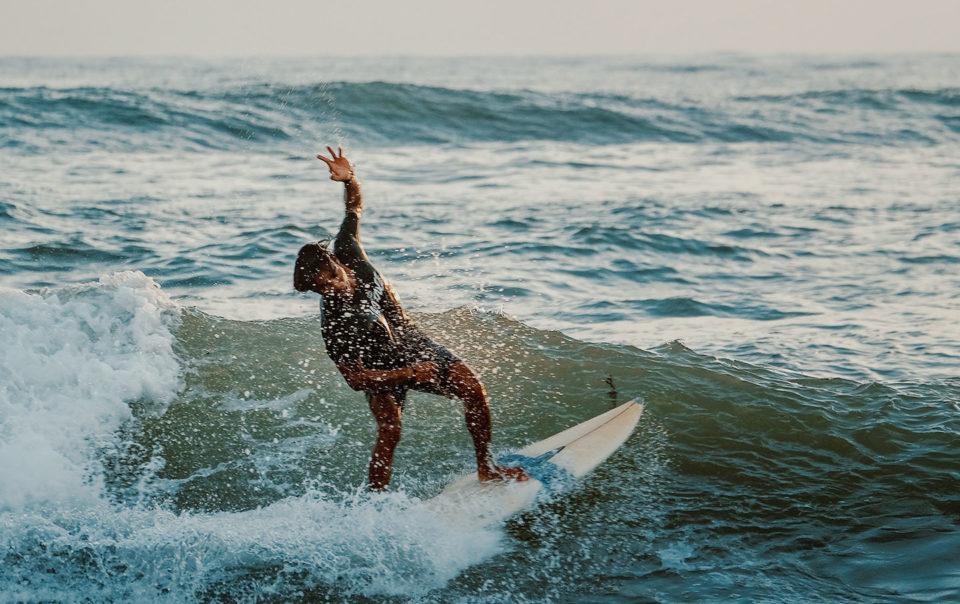 Surfing in the Wet Season