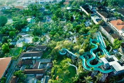 Waterbom fun park